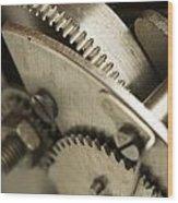 Mechanism  Wood Print