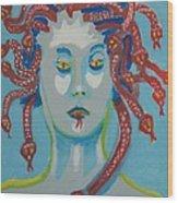 Med 2 Wood Print by Jay Manne-Crusoe