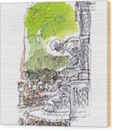 Medici Grotto Paris Wood Print