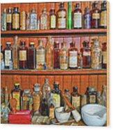 Medicinals Wood Print