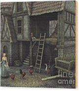 Medieval Idyll Wood Print