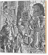 Medieval Prison, 1557 Wood Print