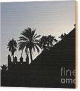 Medina I Rabat Wood Print by Chuck Kuhn