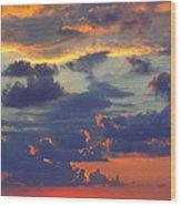Mediterranean Sky Wood Print