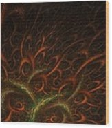 Medusa Wood Print by Lourry Legarde