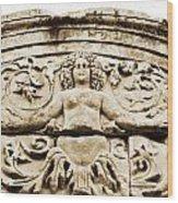 Medusa Of Ephesus Turkey Wood Print