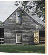 Meeks Stable Wood Print