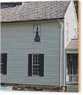 Meeks Store Appomattox Court House Virginia Wood Print by Teresa Mucha