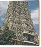 Meenakshi Temple Wood Print
