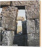 Megalithic Gateway Wood Print