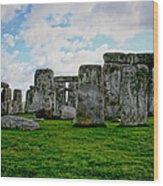 Megaliths Wood Print