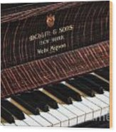 Mehlin And Sons Piano Wood Print