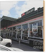 Mel's Drive-in Diner In San Francisco - 5d18041 Wood Print