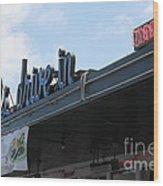 Mel's Drive-in Diner In San Francisco - 5d18042 Wood Print