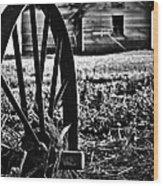 Memories Of Turn Wood Print