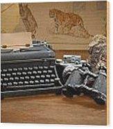 Memories Wood Print by Rudy Umans