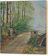 Memory Bridge 1 Wood Print