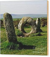 Men An Tol Wood Print