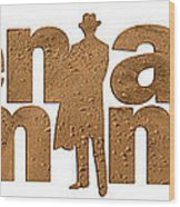 Men Are From Mars Wood Print