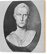 Menander (343-291 B.c.) Wood Print by Granger