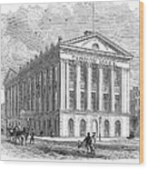 Mercantile Library, C1830 Wood Print