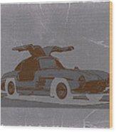 Mercedes Benz 300 Wood Print