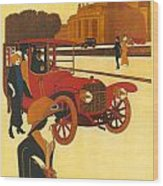 Mercedes Daimler Wood Print