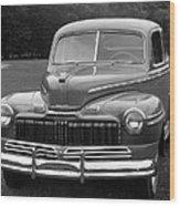 Mercury, 1945 Wood Print
