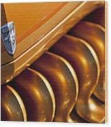 Mercury Hot Rod Grille Wood Print