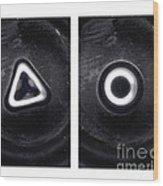 Mercury Under Harmonic Vibration Wood Print