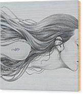 Mermaid Wood Print