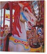 Merry-go-round #2 Wood Print