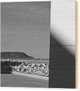 Mesa Seen From A Strip Mall Wood Print
