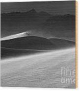 Death Valley California Mesquite Dunes 3 Wood Print