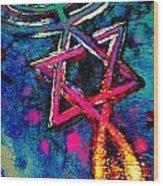 Messianic Colors Wood Print