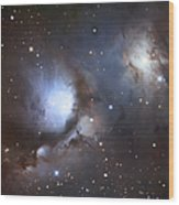 Messier 78, Also Known As Ngc 2068 Wood Print
