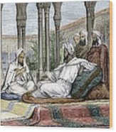 Mesue The Elder, Persian Physician Wood Print by Sheila Terry
