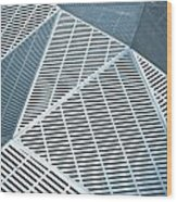 Metallic Frames Wood Print