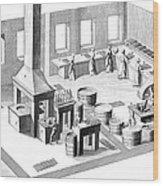 Metalworker, 18th Century Wood Print