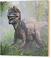 Metriacanthosaurus Wood Print