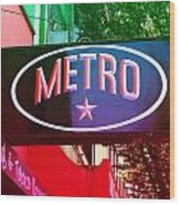 Metro Star Wood Print