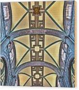 Metropolitan Cathedral Ceiling Wood Print
