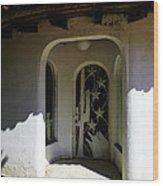 Mexican Door 14 Wood Print
