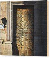 Mexican Door 21 Wood Print