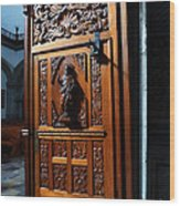 Mexican Door 3 Wood Print