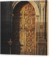 Mexican Door 31 Wood Print