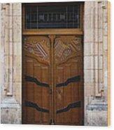Mexican Door 33 Wood Print