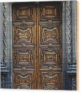 Mexican Door 4 Wood Print