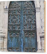 Mexican Door 6 Wood Print