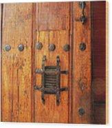 Mexican Door Decor 10  Wood Print